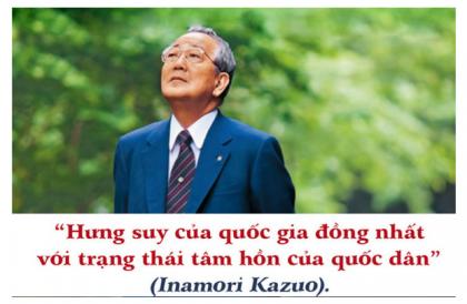 """Inamori Kazuo - Tác giả của """"Con đường đi đến thành công bằng sự tử tế"""