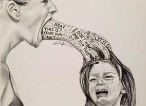 Cha mẹ đừng xả rác vào tâm hồn con mỗi ngày
