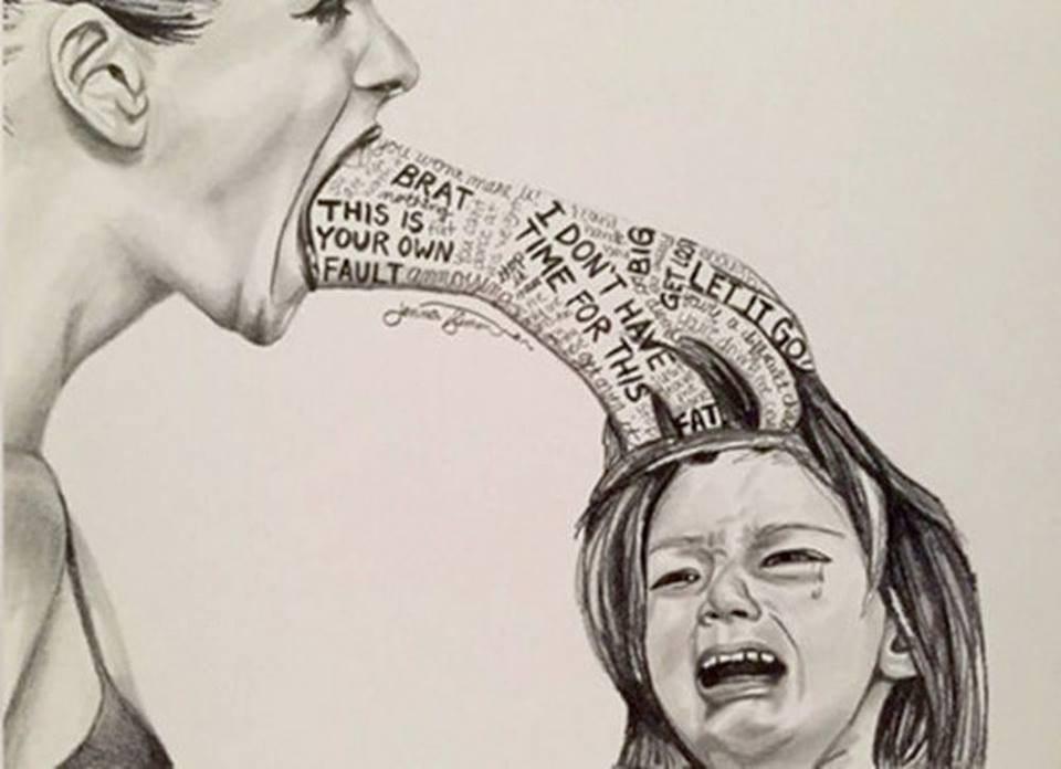 Cha mẹ đừng xả rác vào tâm hồn con trẻ