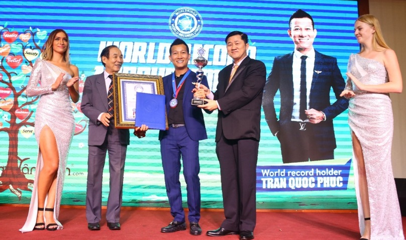 Vườn Tâm Hồn - Trần Quốc Phúc đạt kỷ lục thế giới